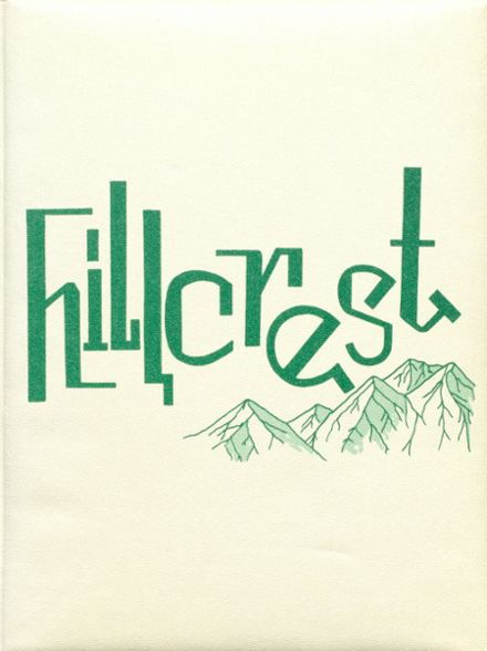 1963 Hillcrest High School Yearbook Cover