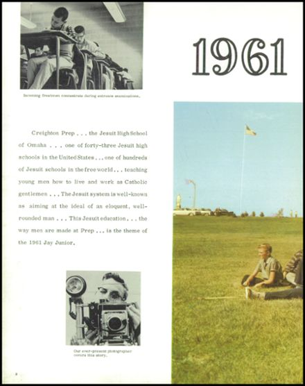 1961 Creighton Preparatory Yearbook Page 6