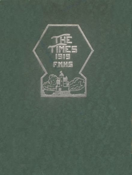 1919 Ft. Madison High School Yearbook Cover