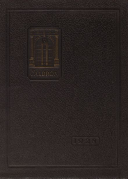1928 Cleveland Heights High School Yearbook Cover