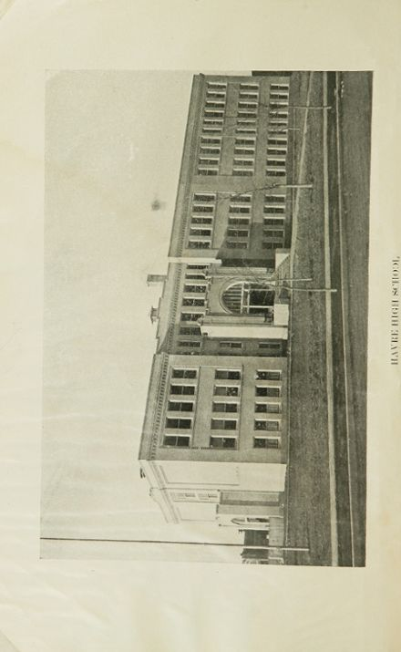 1923 Havre High School Yearbook Page 4