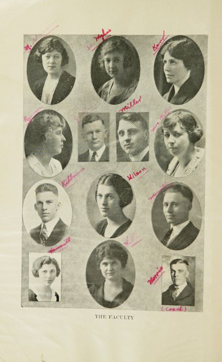 1923 Havre High School Yearbook Page 8