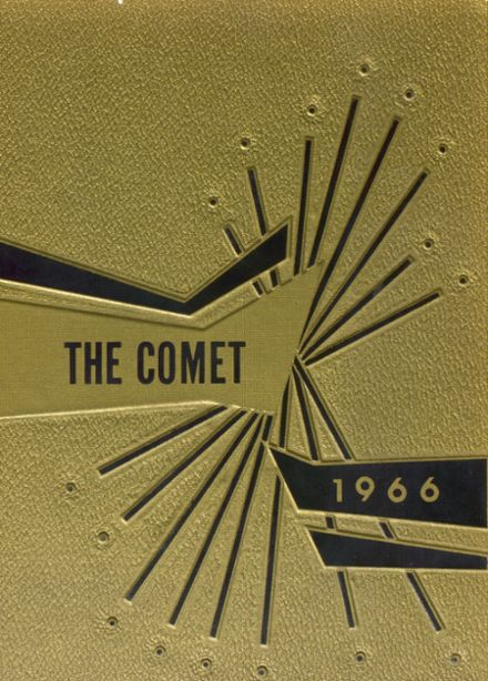 1966 Rolette High School Yearbook Cover