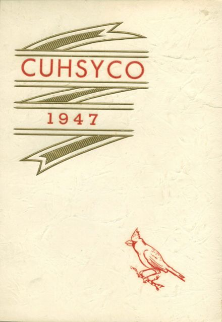 1947 Carlton High School Yearbook Cover