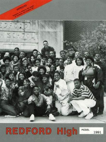 1991 Redford High School Yearbook Cover