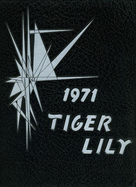 1971 Port Allegany High School Yearbook Cover