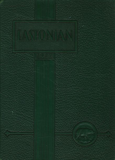 1937 East High School Yearbook Cover