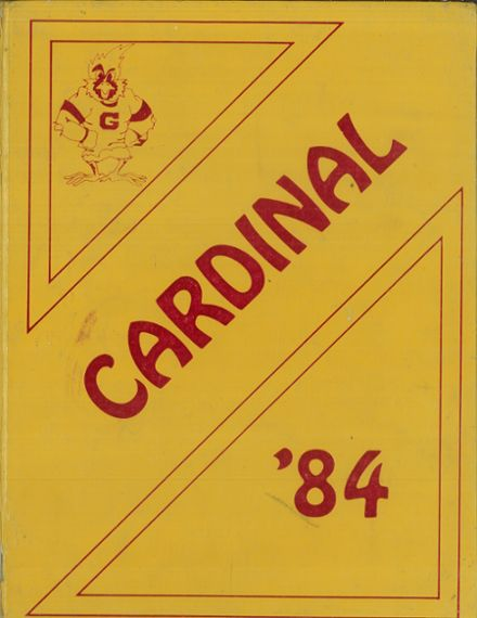 1984 Glendale High School Yearbook Cover