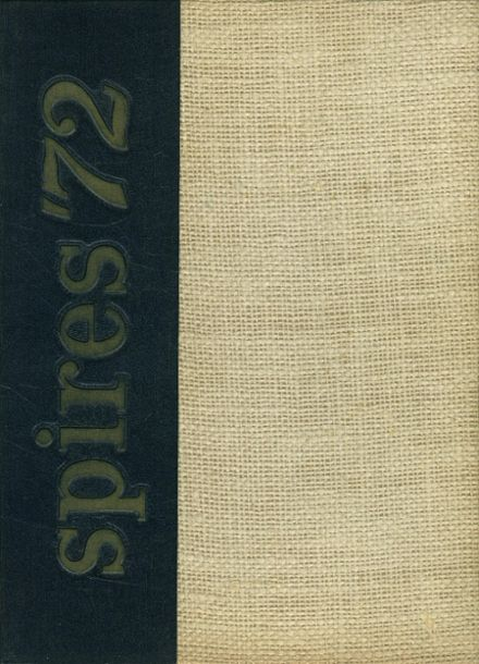 1972 Catholic Central High School Yearbook Cover