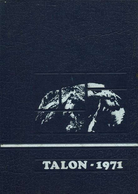 1971 Crescenta Valley High School Yearbook Cover
