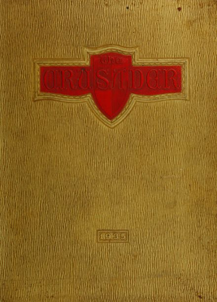 1935 Woodrow Wilson High School Yearbook Cover