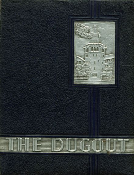 1938 Florida Military Academy Yearbook Cover