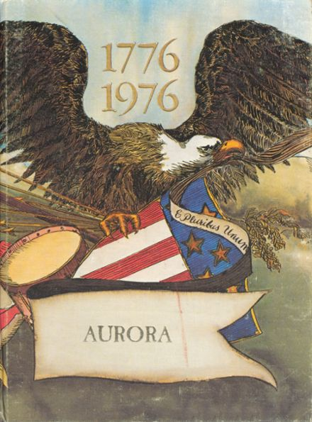 1976 Anderson Union High School Yearbook Cover