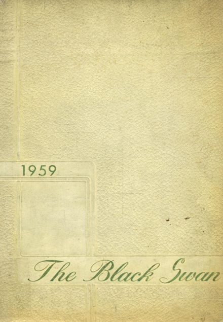 1959 Charles D. Owen High School Yearbook Cover