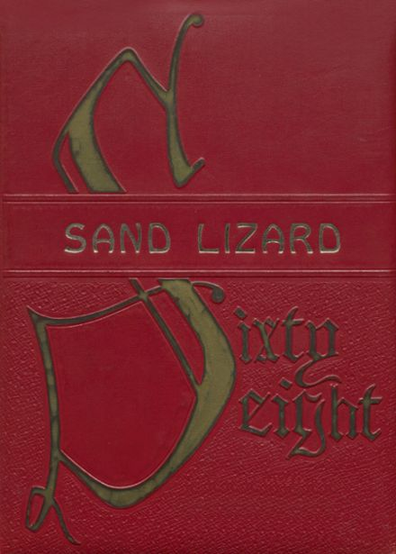 1968 Dardanelle High School Yearbook Cover