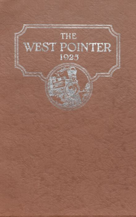1925 West Point High School Yearbook Cover