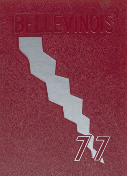 1977 Belleville Township West High School Yearbook Cover