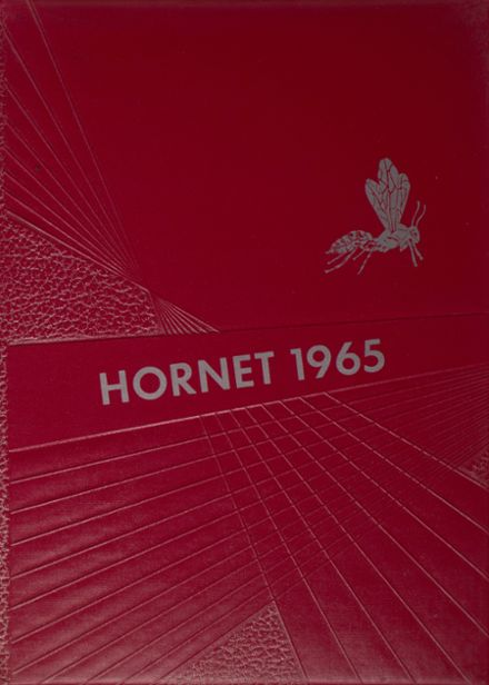 1965 Hume High School Yearbook Cover