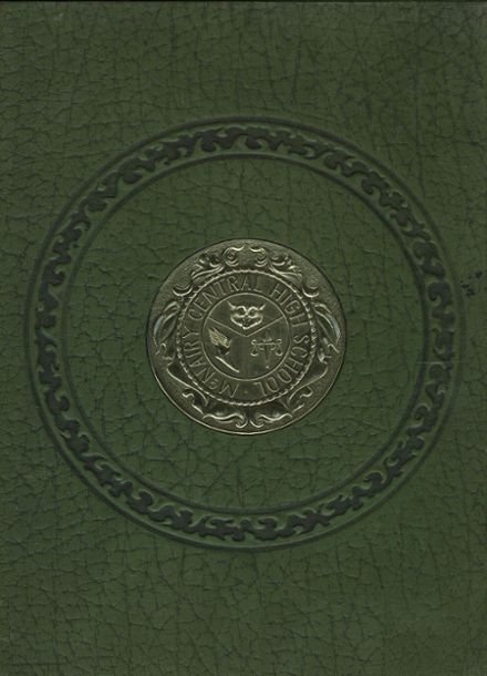 1971 Mcnairy Central High School Yearbook Cover