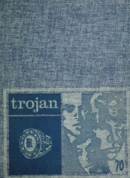 1970 Ribault High School Yearbook Cover