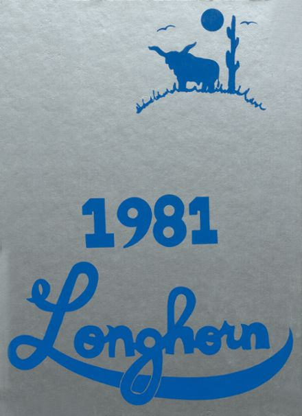 1981 Ft. Cobb High School Yearbook Cover