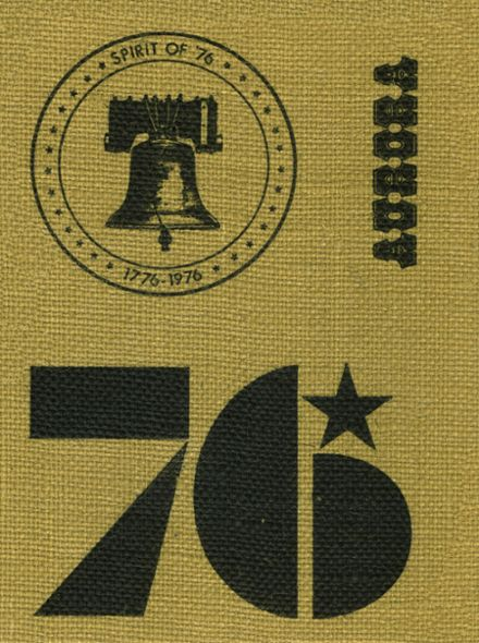 1976 Foothill High School Yearbook Cover