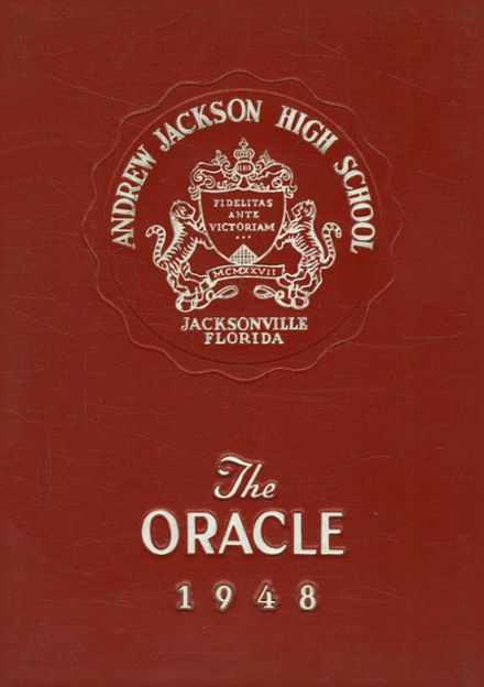 1948 Jackson High School Yearbook Cover