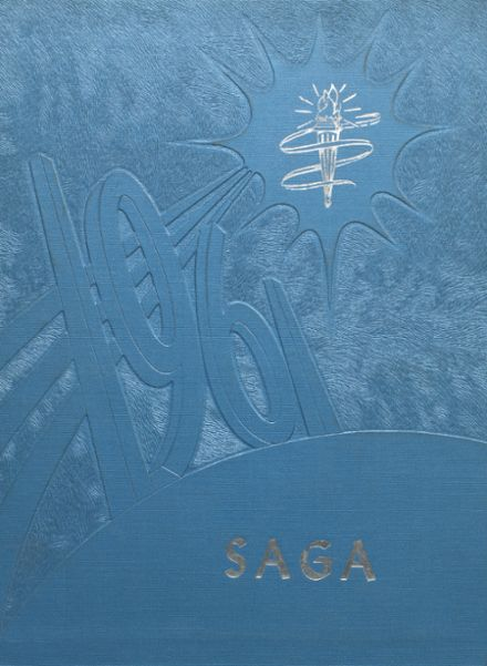 1961 Cadott High School Yearbook Cover