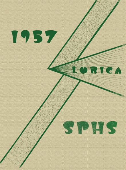 1957 St. Patrick's High School Yearbook Cover
