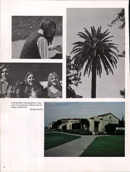 1974 Campbell High School Yearbook Page 8
