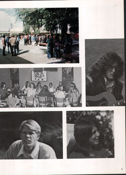 1974 Campbell High School Yearbook Page 9