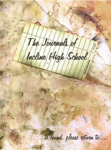 2008 Incline High School Yearbook Cover