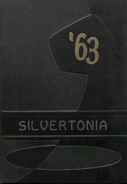 1963 Silverton Union High School Yearbook Cover