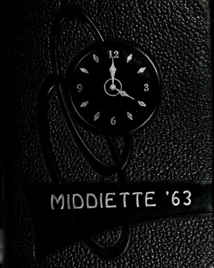 1963 Middlebury High School Yearbook Cover