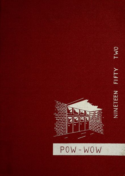 1952 Mississinewa High School Yearbook Cover