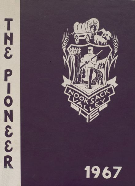 1967 Nooksack Valley High School Yearbook Cover