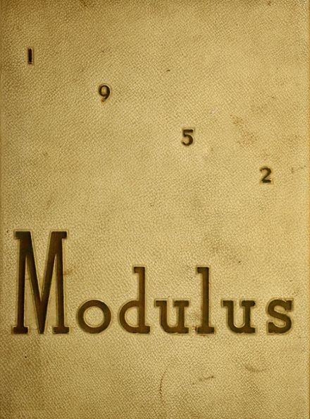 1952 Huntington High School Yearbook Cover