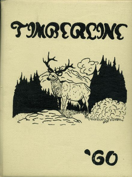 1960 Lake Quinault High School Yearbook Cover