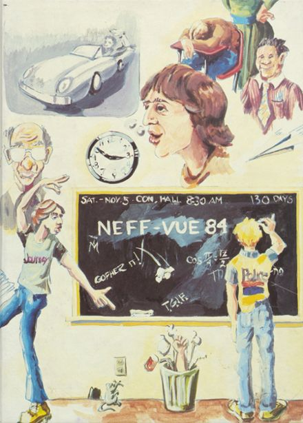 1984 Manheim Township High School Yearbook Cover