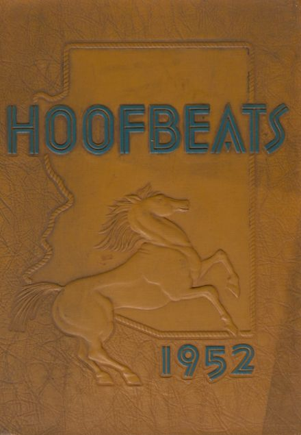 1952 North High School Yearbook Cover