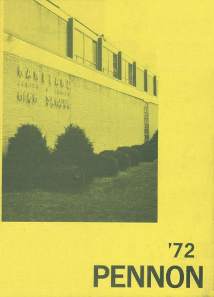 1972 Kaneland High School Yearbook Cover