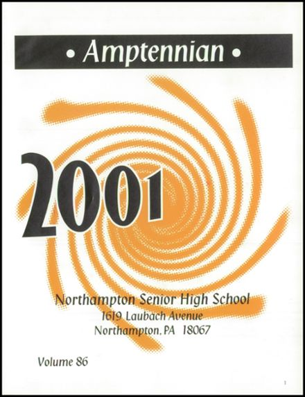 2001 Northampton High School Yearbook Page 5