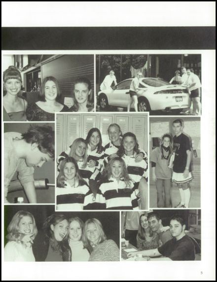 2001 Northampton High School Yearbook Page 9