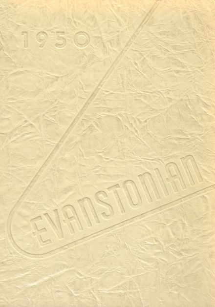 1950 Evanston Township High School Yearbook Cover