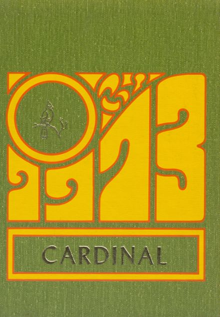 1973 Towner High School Yearbook Cover