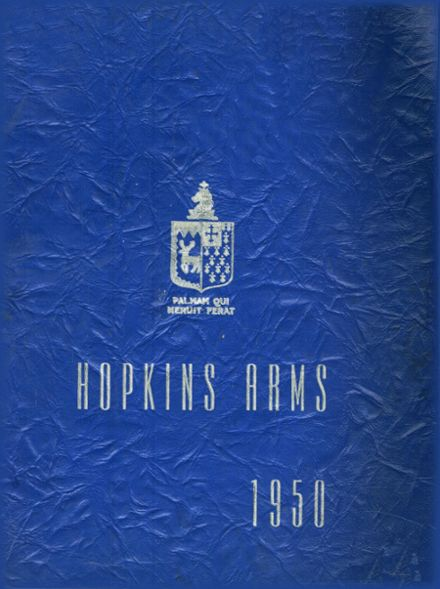 1950 Hopkins Academy Yearbook Cover