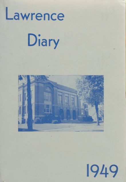 1949 Lawrence High School Yearbook Cover