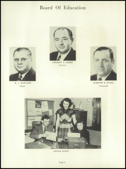 1952 Random Lake High School Yearbook Page 6