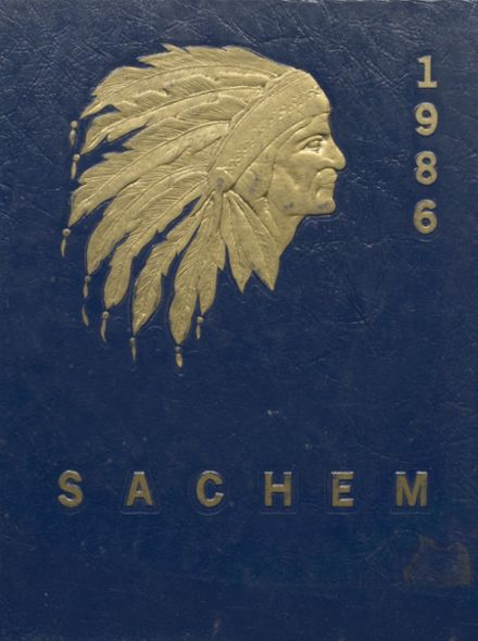 1986 Massapequa High School Yearbook Cover