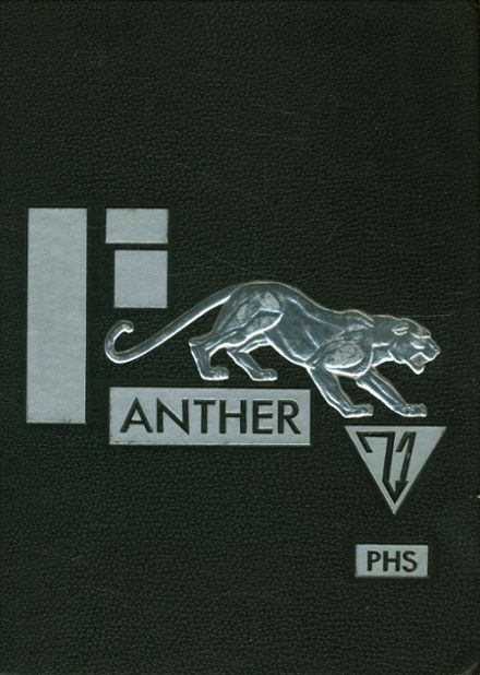 1971 Permian High School Yearbook Cover